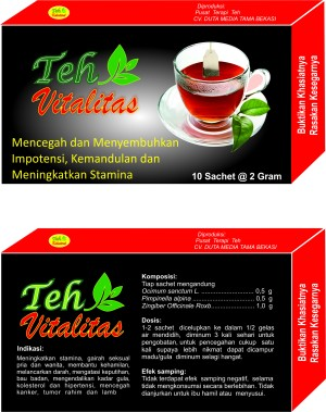 jual teh vitalitas pusat terapi teh tokopedia