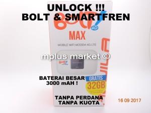 Mifi Modem Mobile Wifi Bolt Smartfren 4G LTE Aquila Max UNLOCK