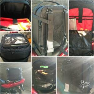 Tas Touring Multifungsi Tankbag Tailbag Seatbag Anti Air Raincover