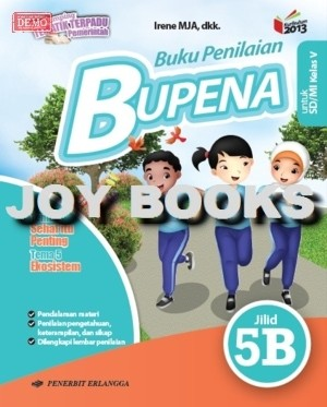 Jual Bupena 5a 5b 5c 5d Revisi 2017 Erlangga Buku Soal Tematik Sd Kelas 5 Kota Surabaya Joy Books Tokopedia