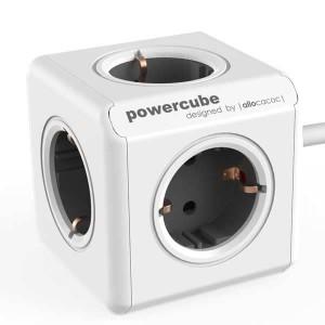 Stop Kontak Steker Listrik Allocacoc Powercube Extended 1.5m cable