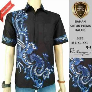 Baju Pria - Batik terbaru - Hem Katun