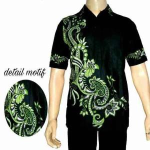 Batik Pria - Hem Batik Danabrata - Bahan Katun