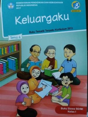 Buku Tematik SD Kelas.1 Tema 4 ( keluargaku )