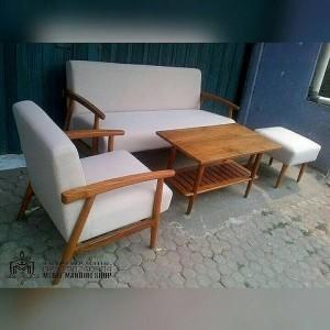 Set Kursi Sofa Tamu Kursi Tamu Retro Murah