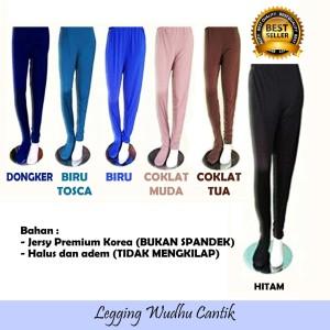 Jual Premium Legging Wudhu Cantik Original Bahan Terbaik Putih Kota Surabaya Legging Wudhu Muslimah Tokopedia