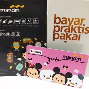 Emoney Mandiri Kartu Etoll - Custom Design print Cetak Tsum Tsum
