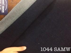 104 - Denim Black Stretch Washed Ketebalan Medium Bahan Celana
