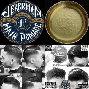 PROMO TOPED JEKERMAN HAIR POMADE WATERBASED 100GR/3.4OZ