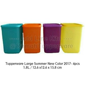 Tupperware Large Summer Fresh New Color 2017