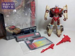 Transformers Titans Return Deluxe Autobot Stylor & Chromedome