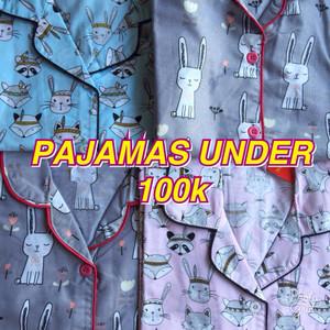 piyama katun / sleepware / piyama / baju tidur