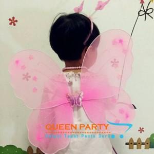 set mahkota peri /mahkota ultah/ bando mahkota / fairy crown set