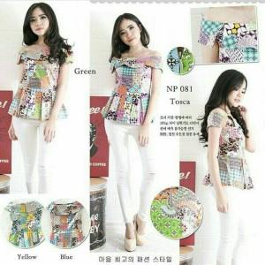 Baju Batik Wanita Sabrina 081 NP