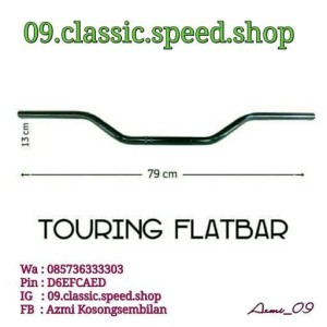 Stang Stir Touring Caferacer Street Cup Bomber Flatbar