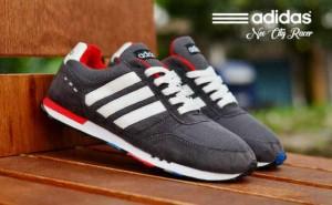 L3575 Sepatu Adidas Neo City Racer Abu List Pu KODE PL3575