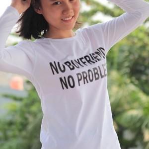 L5713 Kaos Lengan Panjang Wanita No Boyfriend  KODE PL5713