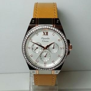 jam tangan alexandre christie ac 2662 yellow
