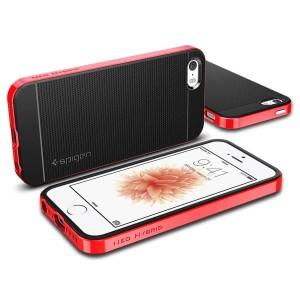 SGP Spigen IPhone 5/5S/ IPHONE 4 Neo Hybrid Case Cover Casing Anti Sho