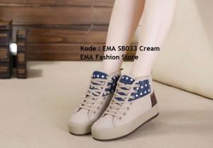 Sepatu Boots Keren Kode EMA SB033