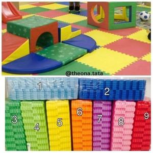 Matras /Tikar / Karpet / Puzzle alas lantai evamat / evamats polos