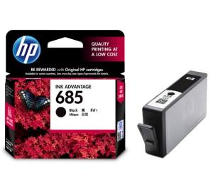 HP ink advantage cartridge 685 Black