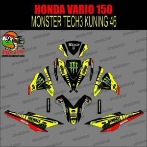 sticker striping full body motor vario 150 monster tech3