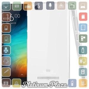 Ultra Thin TPU Case for Xiaomi Mi4i / Mi4c - Transparent`679VGK-
