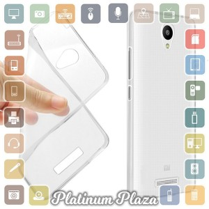 Ultra Thin TPU Case for Xiaomi Redmi Note 2 - Transparent`67A6EQ-