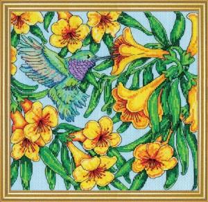 Paket Kristik / Cross Stitch Design Works DW2996 - Hummingbird