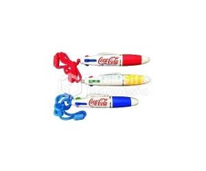 Pulpen PP Tali 4 warna - Barang Promosi & Souvenir Promosi Perusahaan