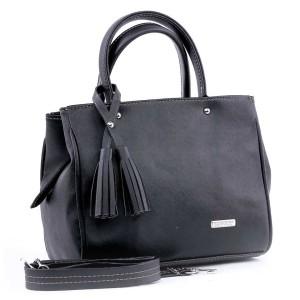 Tas Hand Bag Wanita Cewek Perempuan Warna Hitam Garucci GC TYN 0910