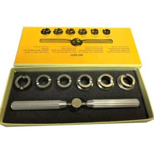 Watch Repair Tool Kit Watchmaker Back Case Opener Wrench Screw Cover R