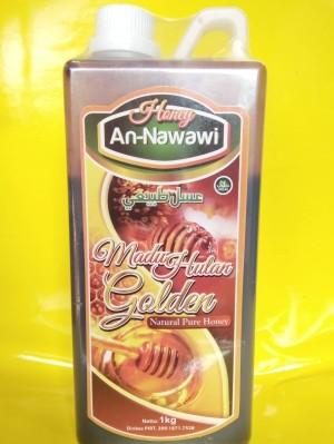 madu an nawawi 1 kg / madu hutan golden 1 kg / madu an nabawy golden