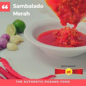 Sambal Padang Merah - Sambalado Merah - Sambel Padang
