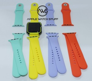 Apple Watch Sport Band 42mm & 38mm Yellow, Mint, Apricot, Lilac color