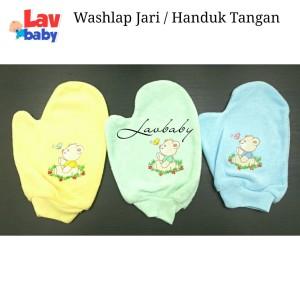 Washlap Jari / Handuk Tangan Bayi
