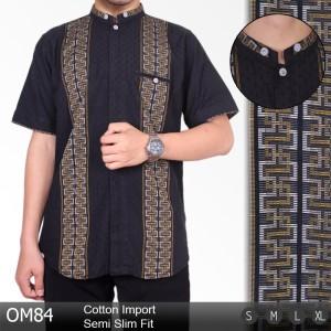 Baju koko Lengan Pendek / Atasan Muslim Modern / Gamis Pria KOKO3