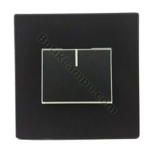 Saklar Engkel Saklar Tunggal Panasonic Style Black Series