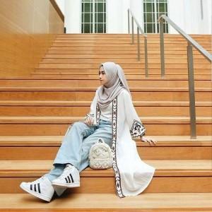Fashion Wanita Shafa Cardigan Terbaru Fashionable