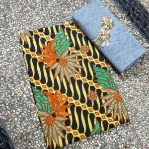 Kain batik printing dan embos - batik pekalongan AR9-3