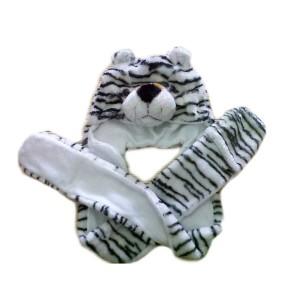 Topi Harimau Siberia Syal Panjang