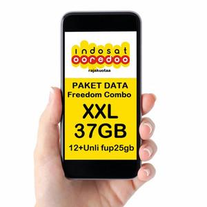 Paket Data Internet Indosat Freedom Combo XXL (65GB)