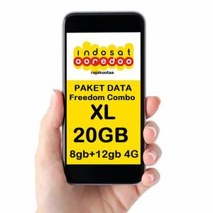 Paket Data Indosat Freedom Combo XL (41GB)