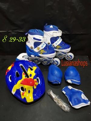 Jual Sepatu Roda Anak Fullset Bisa Pakai GOJEK Olahraga 3dgt9v d5335a9075