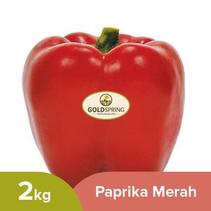 Paprika Merah GoldSpring Kemasan 2kg