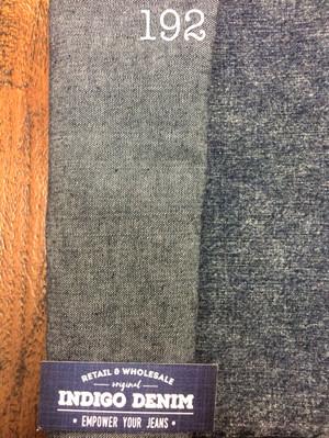 192 - Denim Non Strech Warna Blue Black Tebal