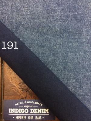 191 - Denim Biru Ketebalan Tipis