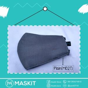 Masker Mulut/ Hidung Teknologi Karbon Aktif & Nanosilver - Plain