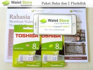 Paket Suara Walet 2 Flashdisk + 1 Buku